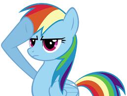 Mlp Rainbow Dash Meme - rainbow dash salute by atomicgreymon on deviantart