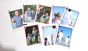 vacation photo album family vacation cards create a deck of custom photo