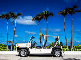 explore paradise in an adorable tiny car at these island resorts