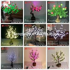 bangladesh cheap led mini cherry blossom bosai tree lighting led