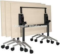 office table on wheels folding office desk new design office folding desk metal table