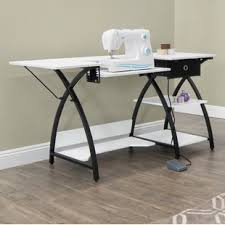 how to make a drop in sewing table sewing craft sewing tables you ll love wayfair