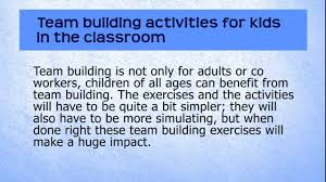 Conflict Resolution Worksheets For Kids Team Building Activities For Kids In The Classroom Youtube