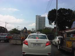 philippines taxi on the uncommon sense on license plates caught up in traffic