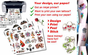 fake tattoo printing all about tattoo
