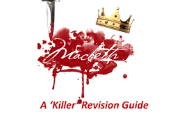 macbeth revision booklet for ks3 u0026 ks4 secondary macbeth
