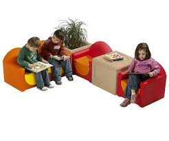 Waiting Room Sofa Waiting Room Furniture Kid Sofa Chairs And Storage Bins Set By Wesco