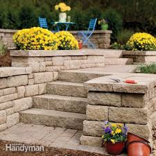 how to build a retaining wall stronger family handyman