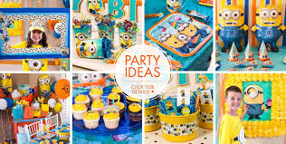 minions party ideas despicable me minions party supplies minions birthday ideas