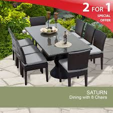 8 Chair Patio Dining Set - dining sets gray sears