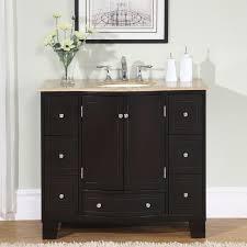 Bathroom Vanities 18 Inches Deep by Bathroom Vanity Cabinets Single Sink Silkroad Exclusive 36 Inch