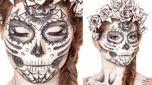 sugarskull sketch makeup tutorial youtube