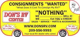 california rv dealer modesto california rvs for sale dons rv