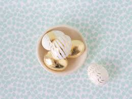gold easter eggs diy gold leaf easter eggs