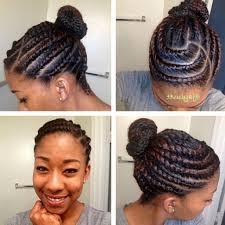 african american hairstyles trends and ideas side bun flat twisted bun black women natural hairstyles popular long