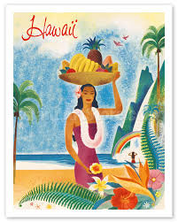 Hawaii Travel Art images Fine art prints posters hawaii hawaiian visitors travel jpg
