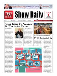 pw show daily day 1 june 5 self publishing media industry