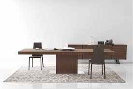park modern extendable dining table