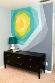 geometric paint designs for walls alternatux com painted flower wall mural artworkgeometric painting ideas for walls geometric paint designs