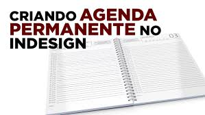 how to create permanent agenda in indesign youtube