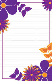 letter writing paper sets 7 best boxed lined stationery sets images on pinterest letter purple yellow flowers lined stationery