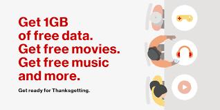 verizon new prepaid plans and thanksgetting freebies whistleout