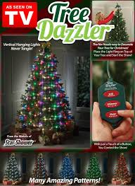 How To String Christmas Tree Lights by Tree Dazzler As Seen On Tv Carolwrightgifts Com