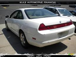 99 honda accord ex coupe 1999 taffeta white honda accord ex v6 coupe 32604577 photo 4