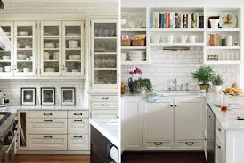 open cabinets in kitchen beauty vignette design kitchen cabinets vs open shelves and the