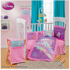 Nursery Bedding Sets For Girls by Disney Aristocats Marie Bedroom Decor 9pc Crib Bedding Nursery Set