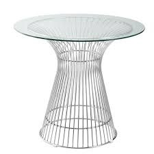 36 by 48 table 30 36 42 48 round platner style dining table 1 2 thick beveled