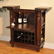 Wine Bar Cabinet Furniture Furniture Portable Black Home Bar Cabinet With Wine Storage And