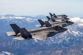 multiple f 35s take to the skies to test communication data links