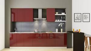 straight kitchen dream furniture india
