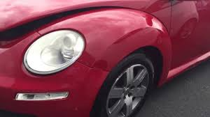 2006 vw beetle red 160424e youtube