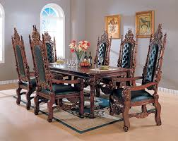 Amusing Gothic Dining Table And Chairs  In Used Dining Room - Gothic dining room table