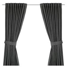 Charcoal Grey Curtains Curtains Living Room U0026 Bedroom Curtains Ikea