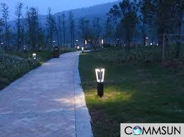 Landscape Bollard Lights Led Light Design Modern Led Lawn Lights Design Bistro Lights
