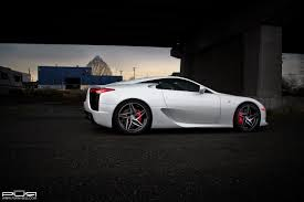 lexus lfa or audi r8 lexus lfa rides on custom pur wheels