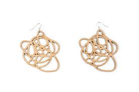 grande earrings big bamboo earrings grande marcelle
