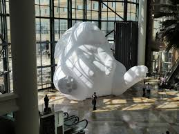 big buns giant rabbits take over brookfield place downtown express