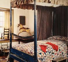 Rocking Bed Frame by Primitive Canopy Bed Quilt Rocking Horse Primitive Bedrooms