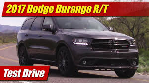 dodge durango 2017 dodge durango r t test drive youtube