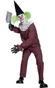 men u0027s evil clown halloween costume scary clown men u0027s costume
