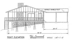 home plans for sloping lots house plans for sloping lots plan with rear view extraordinary
