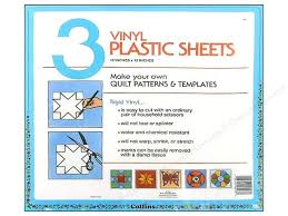 Plastic Template Sheets Template Plastic Sheets By Collins 12 X 12 In 3 Pc Createforless