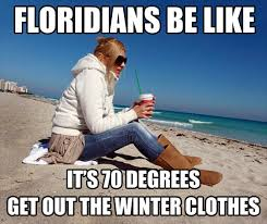 Funny Florida Memes - winter in florida