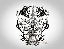 image gallery of rockstar tattoo designs