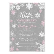 winter onderland invitations announcements zazzle