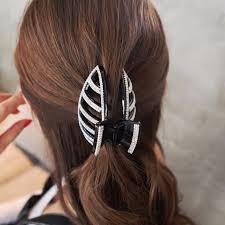 hair claws 2016 new large hair claws rhinestones thick hair clip